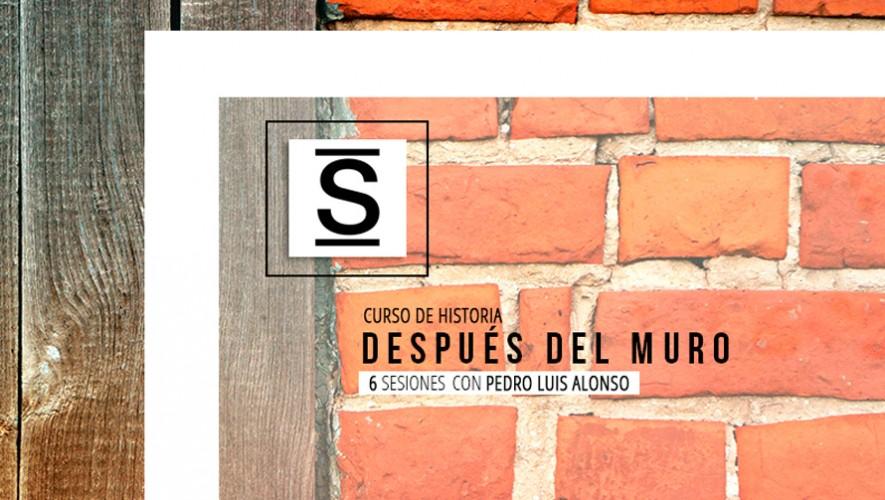 """Curso de historia """"Después del Muro"""" en Librerías Sophos   Agosto 2016"""