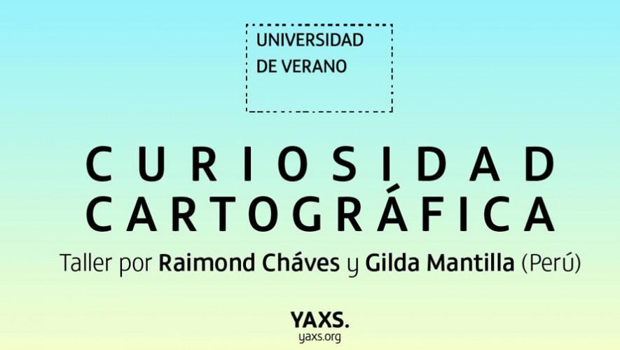 Taller de Curiosidad Cartográfica de Fundación Yaxs | Septiembre 2016
