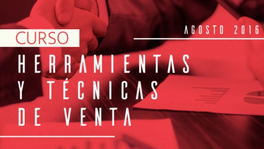 Curso Herramientas y Técnicas de Vendas por Summit | Agosto 2016