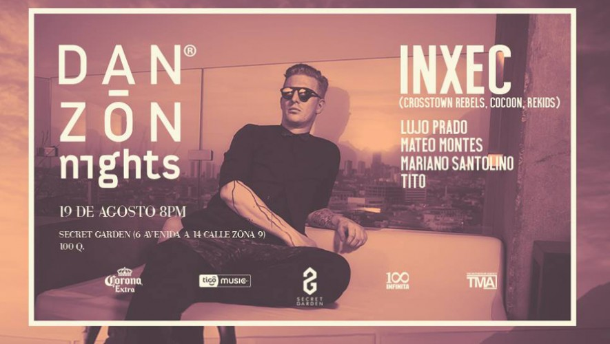 Danzón Night con Inxec en The Secret Garden | Agosto 2016