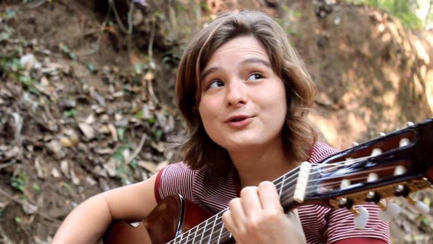 La cantante guatemalteca Dominique Hunziker llevó su música a Suiza. (Foto: Dominique Hunziker)