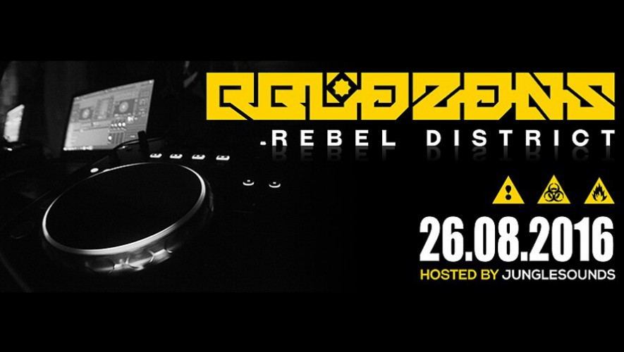 """Rebel District"" Drum and Bass en La Maga 