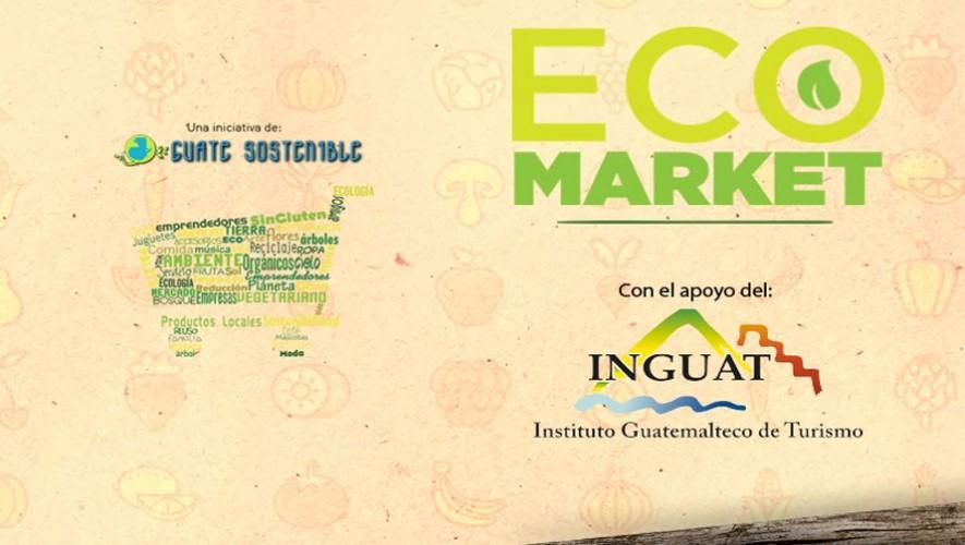 EcoMarket en el Mercado de Artesanías zona 13   Agosto 2016
