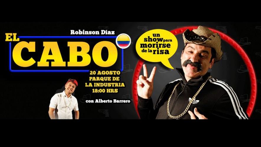 """Show cómico colombiano """"El Cabo"""" en Guatemala Parque de la Industria   Agosto 2016"""