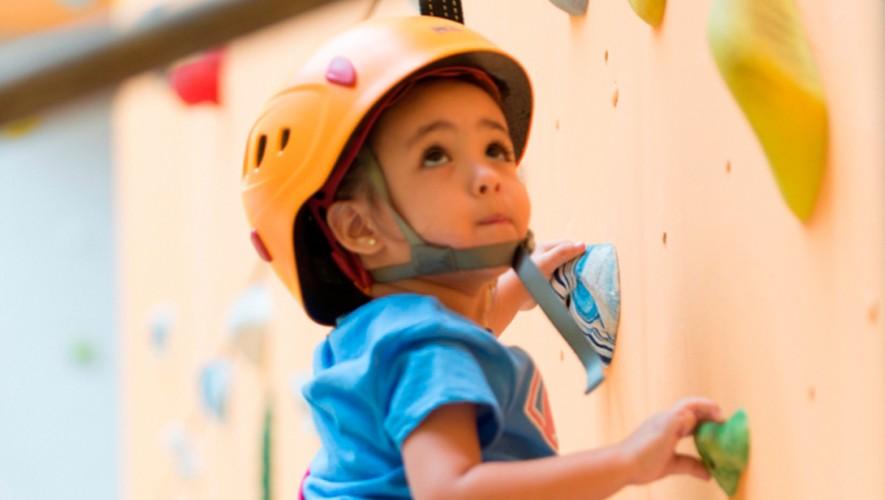 A los niños les encanta escalar. (Foto: Cortesía Big Mountain)