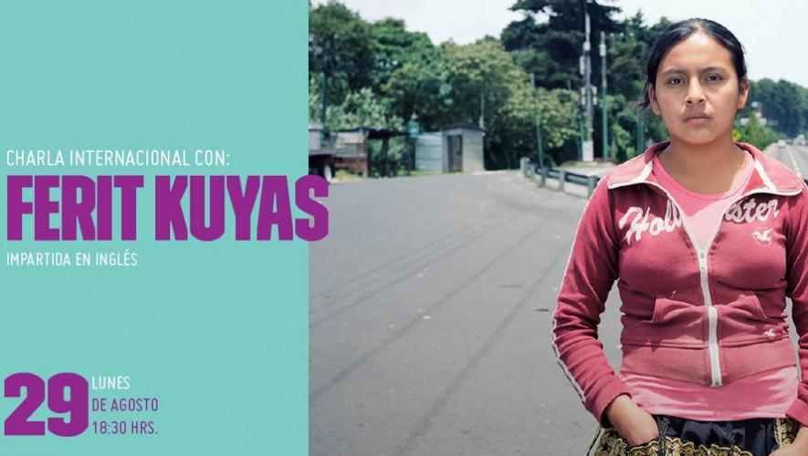 Charla con el fotógrafo internacional Ferit Kuyas en la Fototeca   Agosto 2016