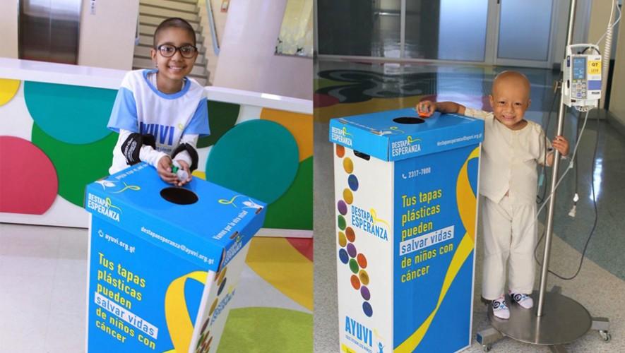 Puedes ayudar a salvar a niños con cáncer en Guatemala. (Foto: Ayuvi)