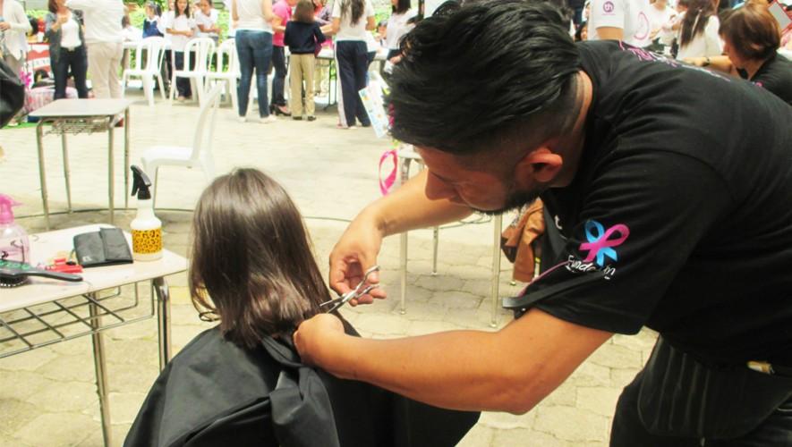 Dona tu cabello para pacientes con cáncer en Guatemala con la campaña Donación de Al Pelo 2016 (Foto: Fundecán)