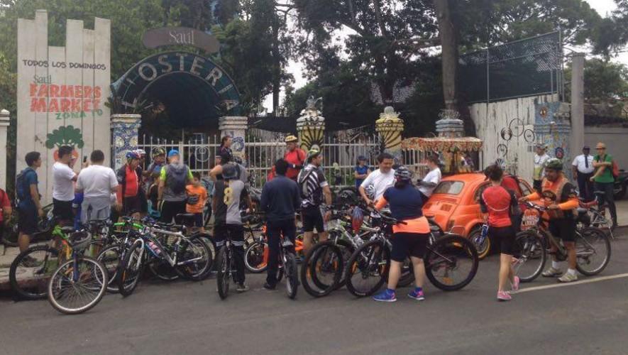 Expocicle: Gran Colazo Familiar en bicicleta   Agosto 2016