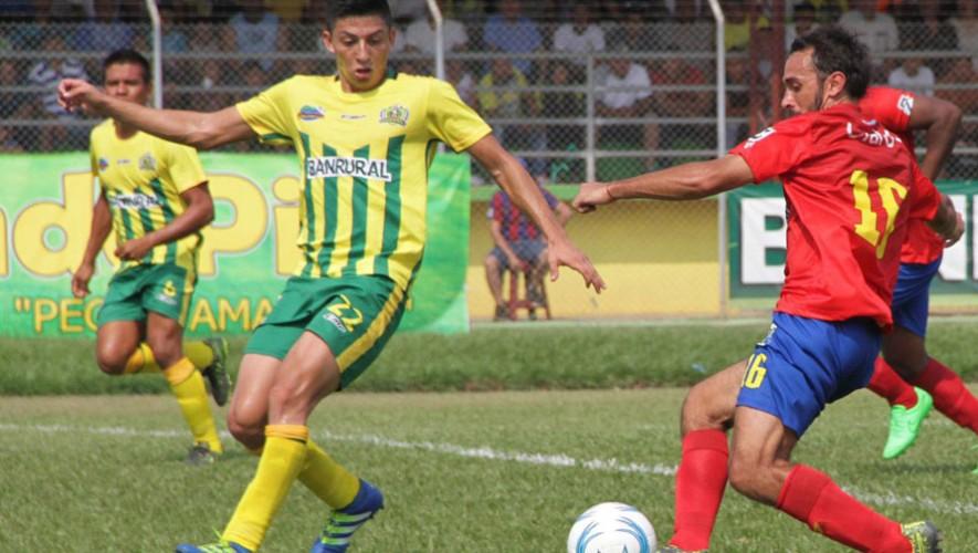 Partido de Guastatoya vs Municipal, por el Torneo Apertura | Agosto 2016