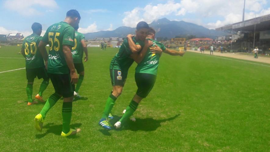 Partido de Guastatoya vs Suchitepéquez, por el Torneo Apertura   Agosto 2016