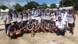 Segundo lugar del Centroamericano Sub-19