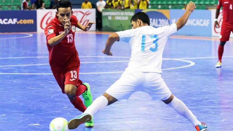 Futsal: Partido amistoso de Guatemala vs Cuba | Agosto 2016
