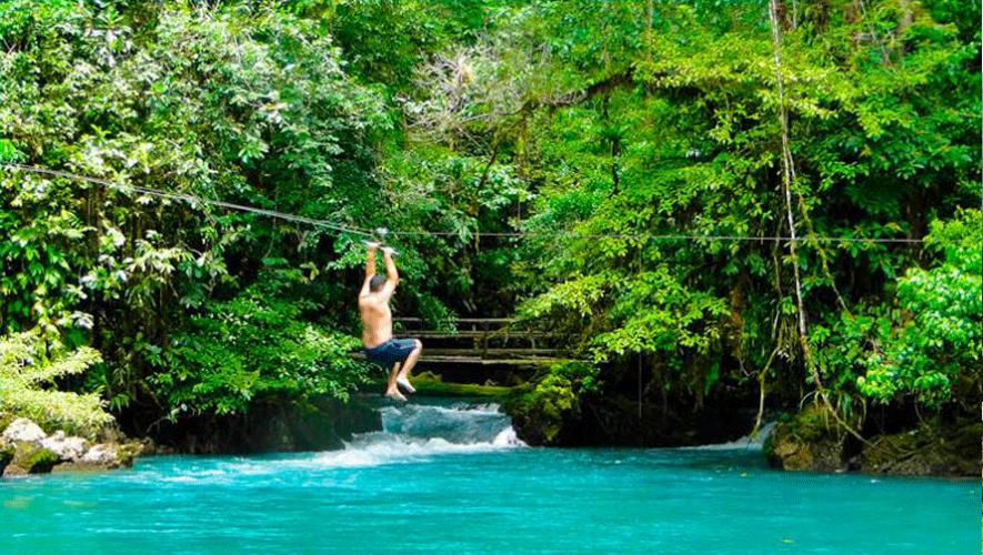 Actividades deportivas y mucha naturaleza en Hun Nal Ye. (Foto: Andrea Tórtola)
