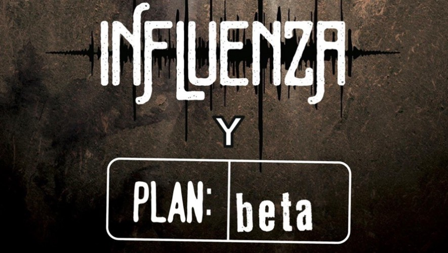 Concierto Influenza y Plan Beta en Rock 'ol Vuh | Agosto 2016