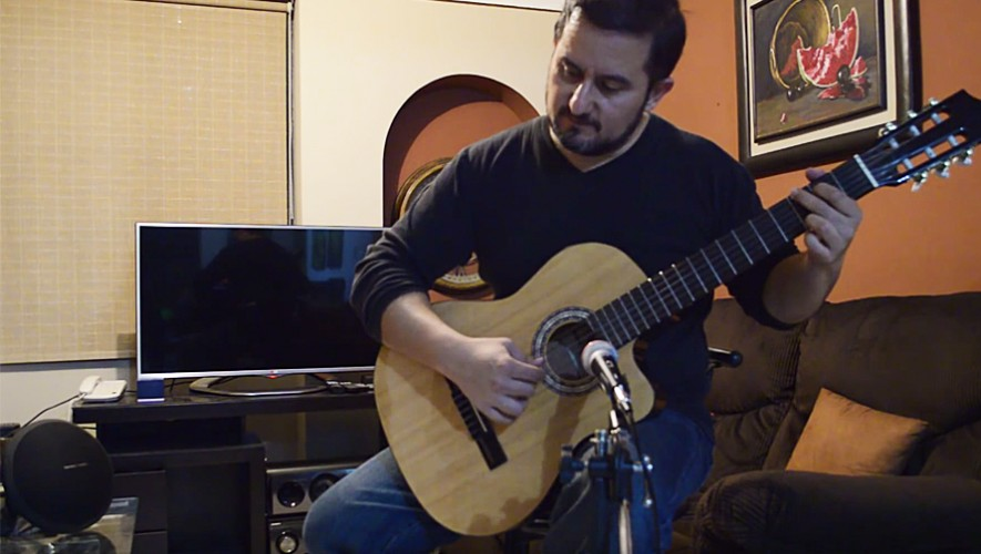 El guatemalteco José Lemus participa en la competencia Guitar Masters 2016. (Foto: Captura de YouTube)