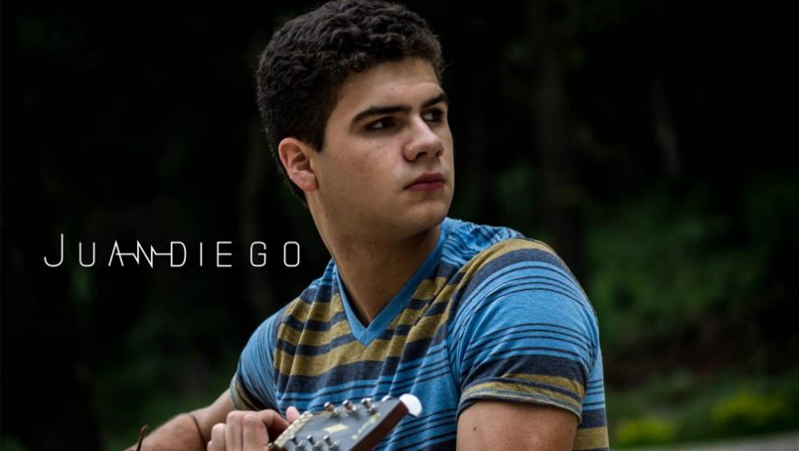 Escucha la música de Juandiego, un talento emergente en Guatemala. (Foto: Cortesía Juan Diego)