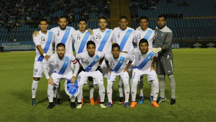 Jugadores convocados de Guatemala 2016