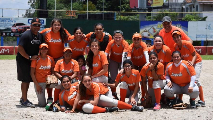 Lanquetín - Sóftbol Guatemala