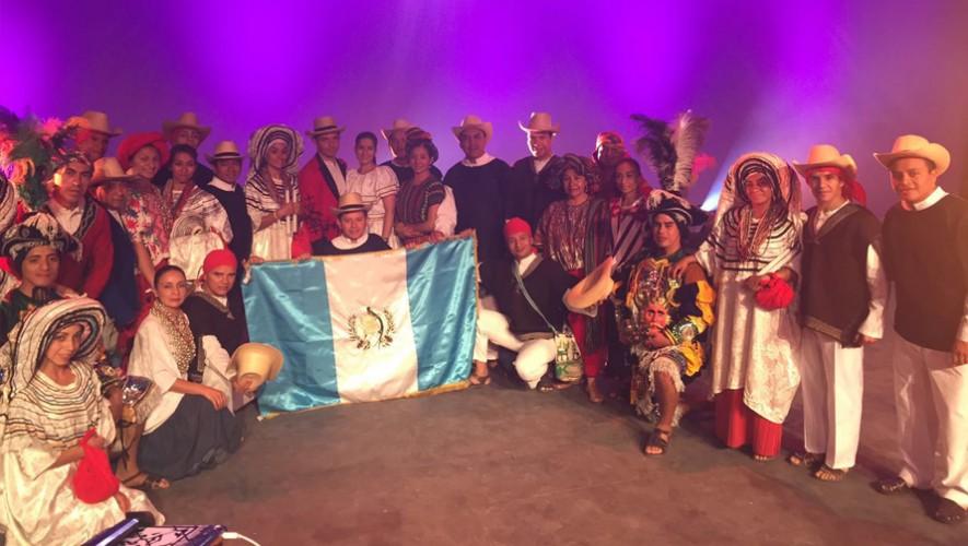 El grupo de Ballet Modeno y Folklórico tuvo una destacada participación en Francia.  (Foto: Ministerio de Cultura y Deportes)