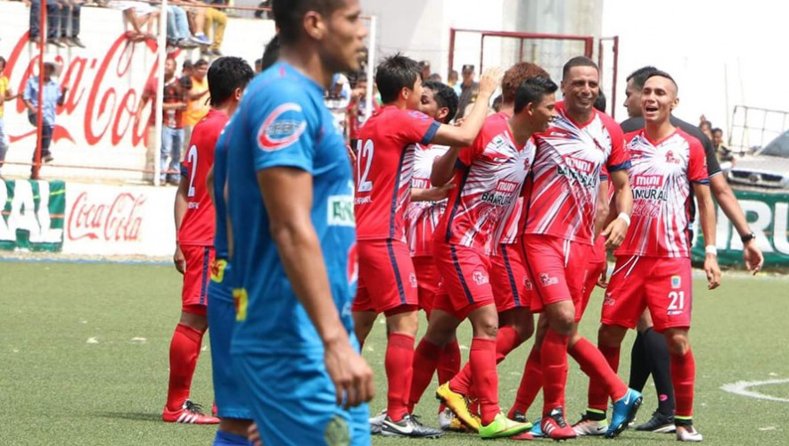 Partido de Malacateco vs Comunicaciones, por el Torneo Apertura | Agosto 2016