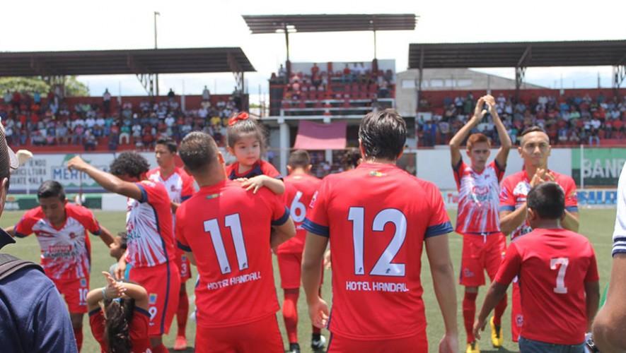 Partido de Malacateco vs Municipal, por el Torneo Apertura   Agosto 2016