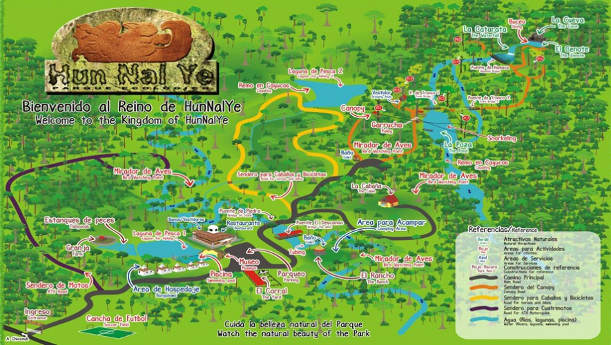 (Parque Ecológico Hun Nal Ye)