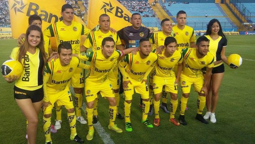 Partido de Marquense vs Petapa, por el Torneo Apertura | Agosto 2016