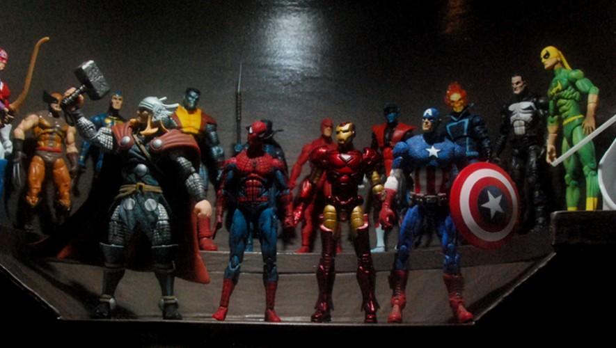 Inauguración de tienda de productos Marvel | Septiembre 2016