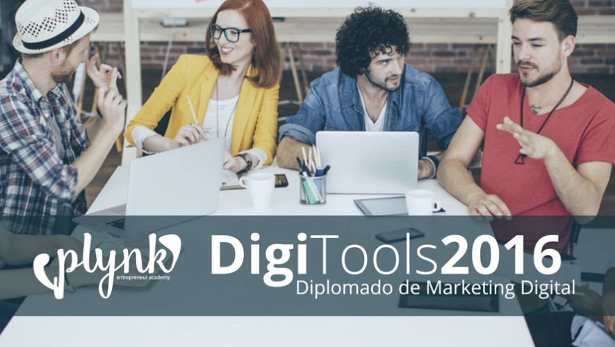 Diplomado de Marketing Digital DigiTools  Agosto 2016
