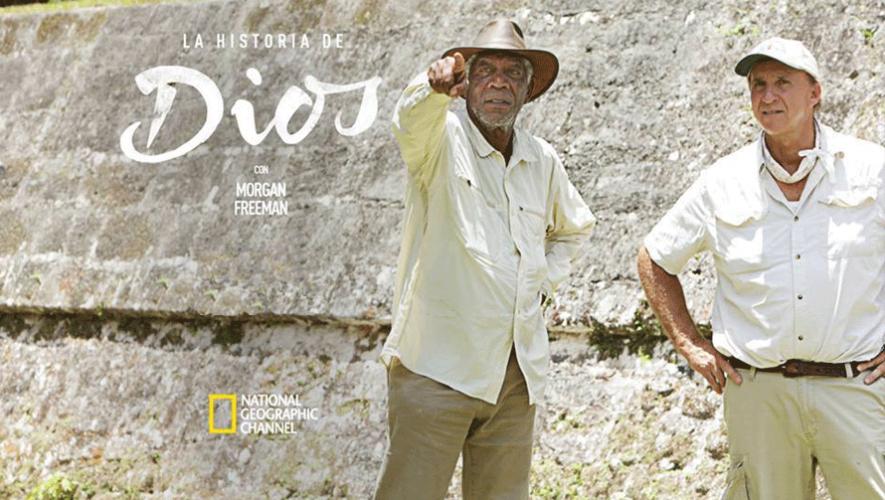 Morgan Freeman estuvo de visita en Guatemala para filmar la serie Story of God. (Foto: Richard D. Hansen)