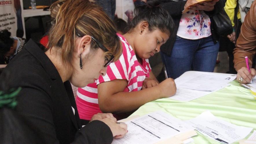 Feria de Empleo de la Juventud en la Ciudad de Guatemala | Agosto 2016