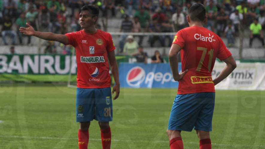 Partido de Municipal vs Marquense, por el Torneo Apertura   Agosto 2016