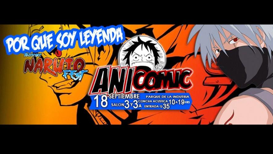 ANICOMIC- Naruto Fest   Septiembre 2016