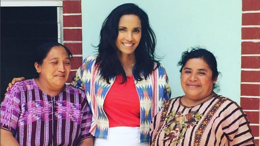 La conductora de Top Chef Estados Unidos se encuentra de visita en Guatemala. (Foto: Padma Lakshmi)