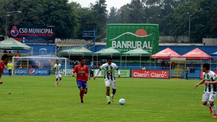 Partido de Antigua vs Municipal, por el Torneo Apertura   Agosto 2016