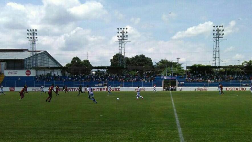 Partido de Suchitepéquez vs Mictlán, por el Torneo Apertura | Agosto 2016