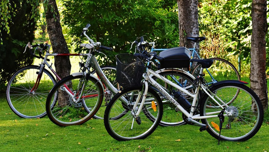 Paseo familiar en bicicleta en Zona Portales   Septiembre 2016