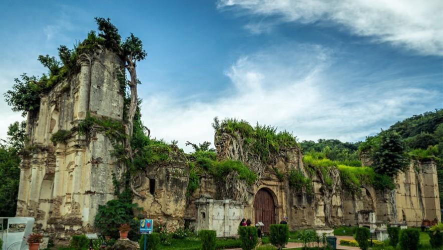 Las ruinas de la Iglesia de la Concepción en Villa Canales ahora son un parque arqueológico. (Foto: RBM-Guatemala-Model-Pageant)