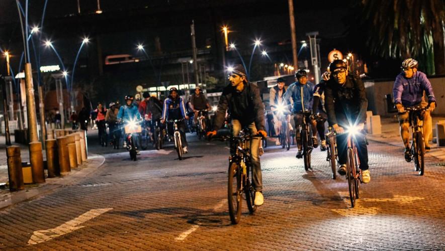 Recorrido nocturno en bicicleta de L'Ostería de fin de mes| Agosto 2016