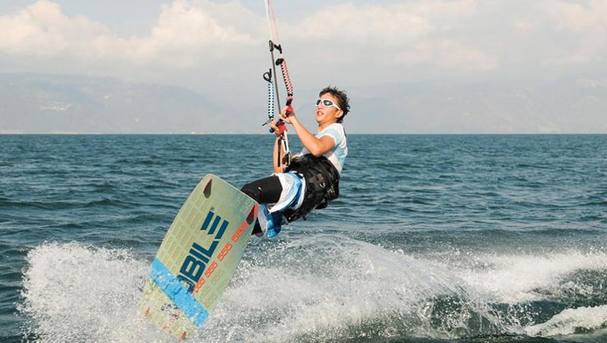 Kiteboarding en Guatemala
