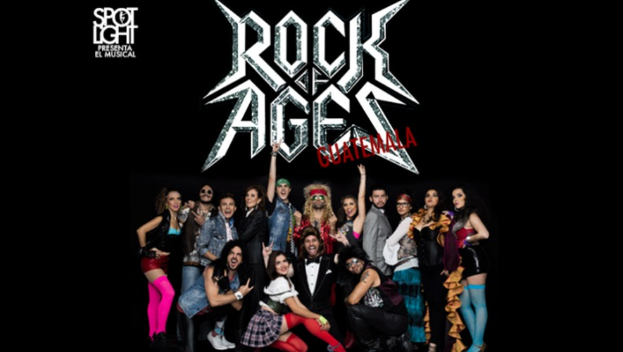 "Musical ""Rock Of Ages"" en Teatro Dick Smith| Septiembre - Octubre 2016"