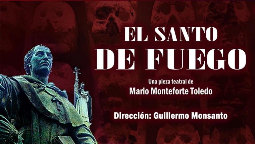 """Obra de teatro """"El santo de fuego""""   Agosto - Septiembre 2016"""