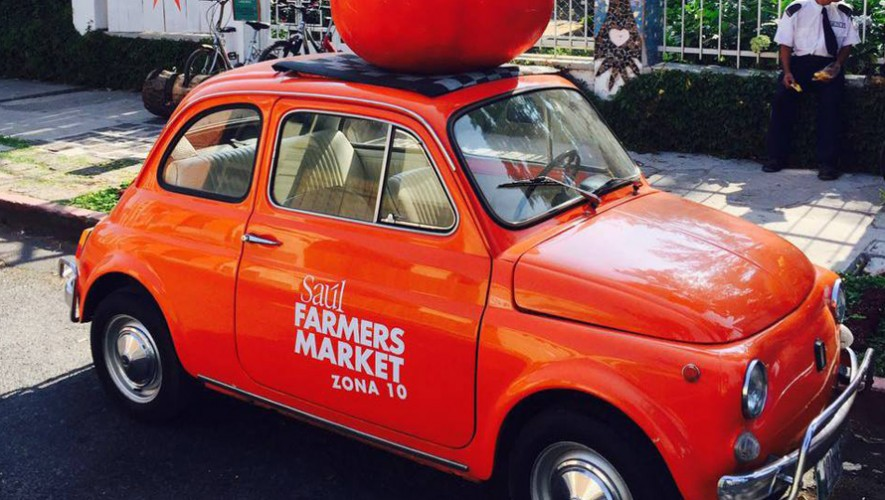 Saúl L'Ostería Farmers Market   Agosto 2016