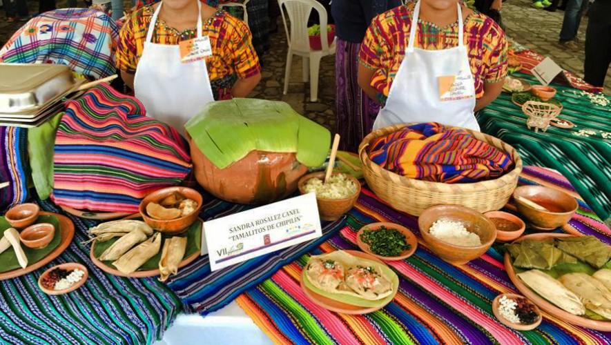 Prueba platillos de comida guatemalteca gratis en el festival Sabores de Antaño 2016. (Foto: Stephanie-Jolluck)