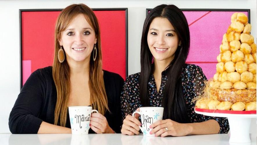 Mariade Villeda y MiRyang Sohn, emprendedoras guatemaltecas que crearon The Baking Room. (Foto: TBR Magazine)