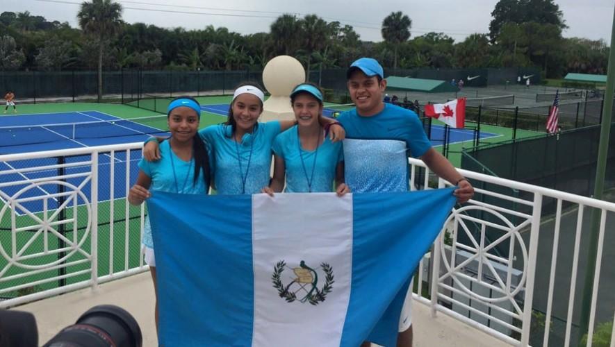 Tenistas guatemaltecas