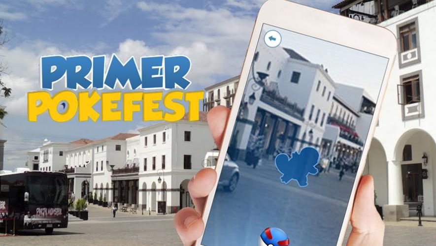 Primer Pokefest en la Ciudad de Guatemala   Agosto 2016