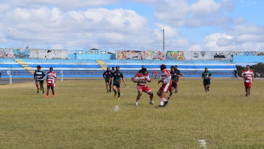 Torneo de Rugby 7s en Guatemala  Agosto 2016