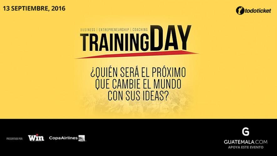 """Seminario para emprendedores guatemaltecos """"Training Day""""   Septiembre 2016"""